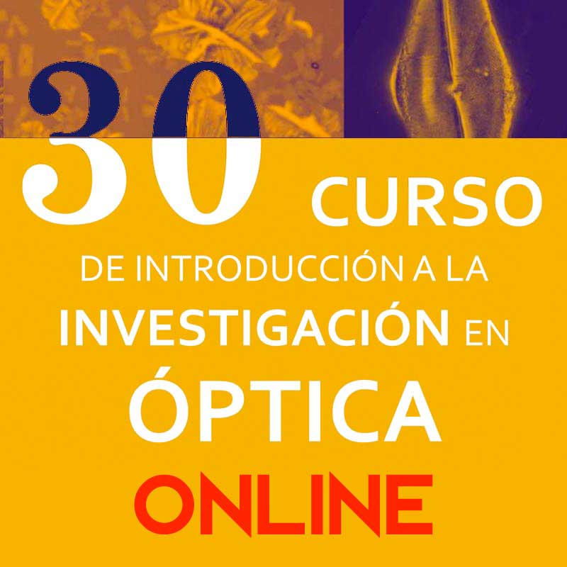 30 Introduction to Optics Research Course, April 8-9